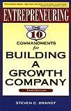 Entrepreneuring, Steven C. Brandt, 1888925027
