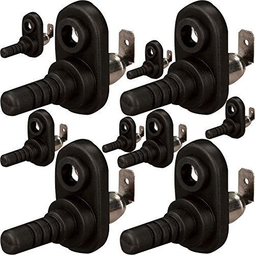 - The Install Bay by Metra FMPSR-10 Flange Mount Pin Switch Rubber Boot (10/pack)