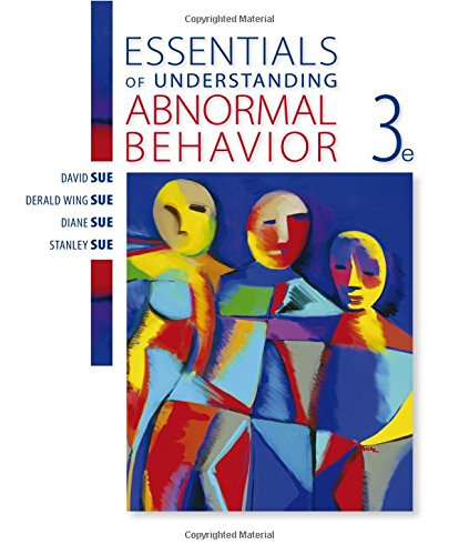 Essentials Of Underst.Abnormal Behavior
