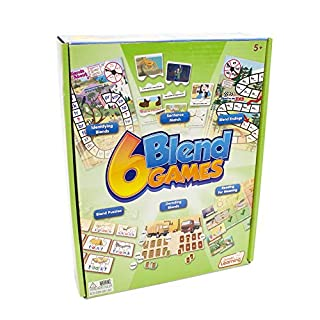 Junior Learning JL410 6 Blend Games