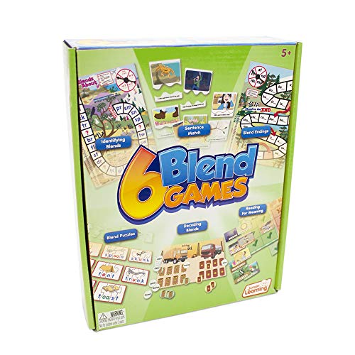 And Blends Digraphs (Junior Learning 6 Blend Game)