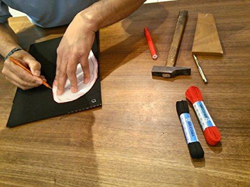 Sandali Kit a Fabbricazione Vibram Nudi Running Corsa Newflex Nero Lace Piedi 5mm Cherry Trail Minimalista qCEAwAd