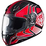 HJC Redline Boys CL-Y Street Motorcycle Helmet - MC-1 / Medium