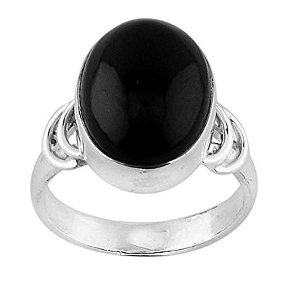 DV Jewels Black Onyx Gemstone Ring