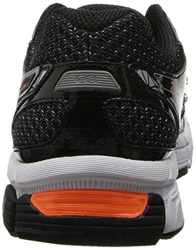 Asics - Zapatillas de sintético para hombre Black Silver - Black/Onyx/Orange