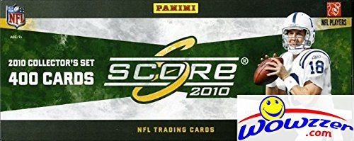 2010 Score NFL Football Complete Massive 400 Card Factory...
