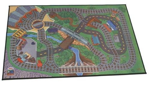 Thomas And Friends Wooden Railway - Felt Playmat