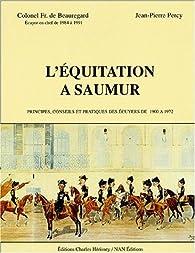 L'équitation à Saumur par François de Beauregard
