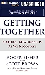 Getting Together: Building Relationships as We Negotiate (CD-Audio) - Common