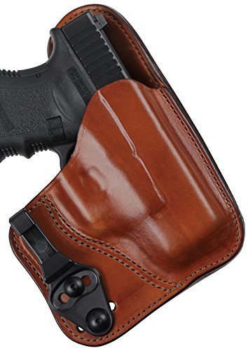 Bianchi Model 100T Professional Tuckable Holster Fits S&W J-Frame Ruger SP101, Tan, Right