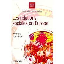 les relations sociales en europe: acteurs et enjeux