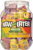 Now & Later Classic Mini Bars - 60.7oz Jar