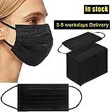 1000PCS 3 ply black disposable face shield filter