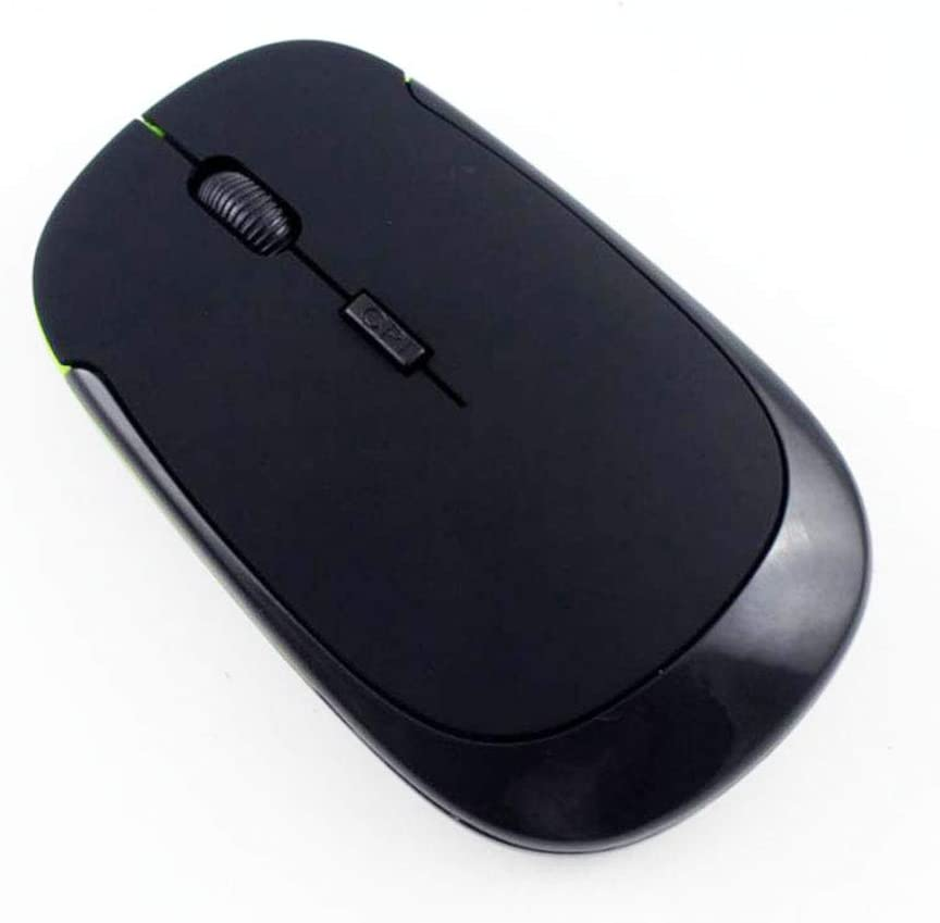 red USB 2.0 Receiver Ergonomics Business Office 5PCS Mouse Ultra-Thin 2.4GHz Wireless Mouse