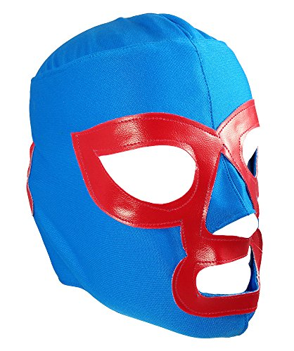 NACHO LIBRE Youth Lucha Libre Wrestling Mask - KIDS Costume Wear