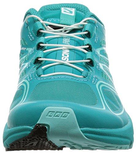 Salomon L37917400, Zapatillas de Trail Running para Mujer Azul (Teal Blue F /     Teal Blue F /     Bubble Blue)