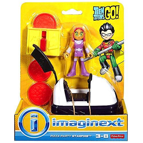 Imaginext Pizza Party Starfire Teen Titans GO Figure 2.5