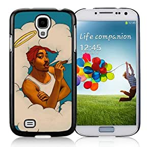 Samsung Galaxy S4 Cover Case,Tupac Shakur 1 Black Cool Customized Samsung Galaxy S4 I9500 Case