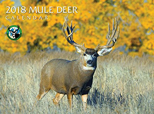 Deer Calendar - 2018 Mule Deer Calendar