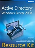 img - for Active Directory Windows Server 2008 z plyta CD book / textbook / text book