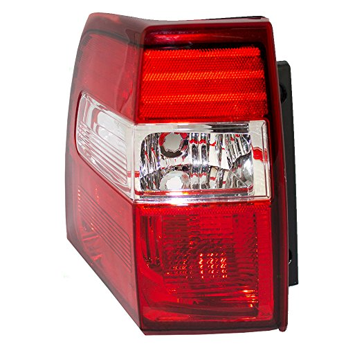 Drivers Taillight Tail Lamp Lens & Housing Unit Replacement for 07-17 Ford Expedition ()