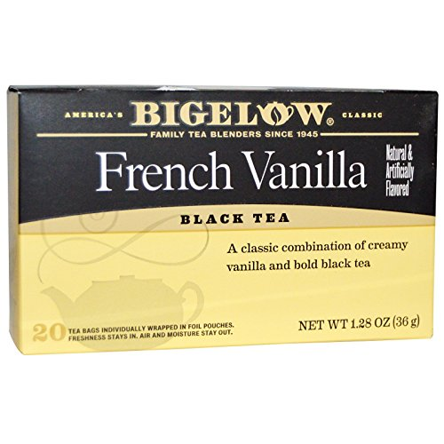 Bigelow French Vanilla Tea Bags - 20 ct (Bigelow French Vanilla Tea)