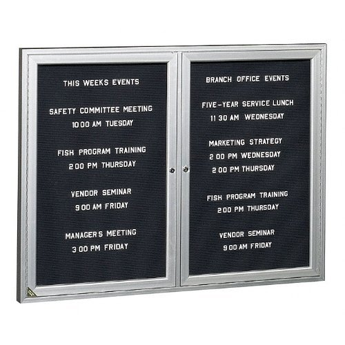 Ghent-Indoor Directory Board 48''X36 by Ghent