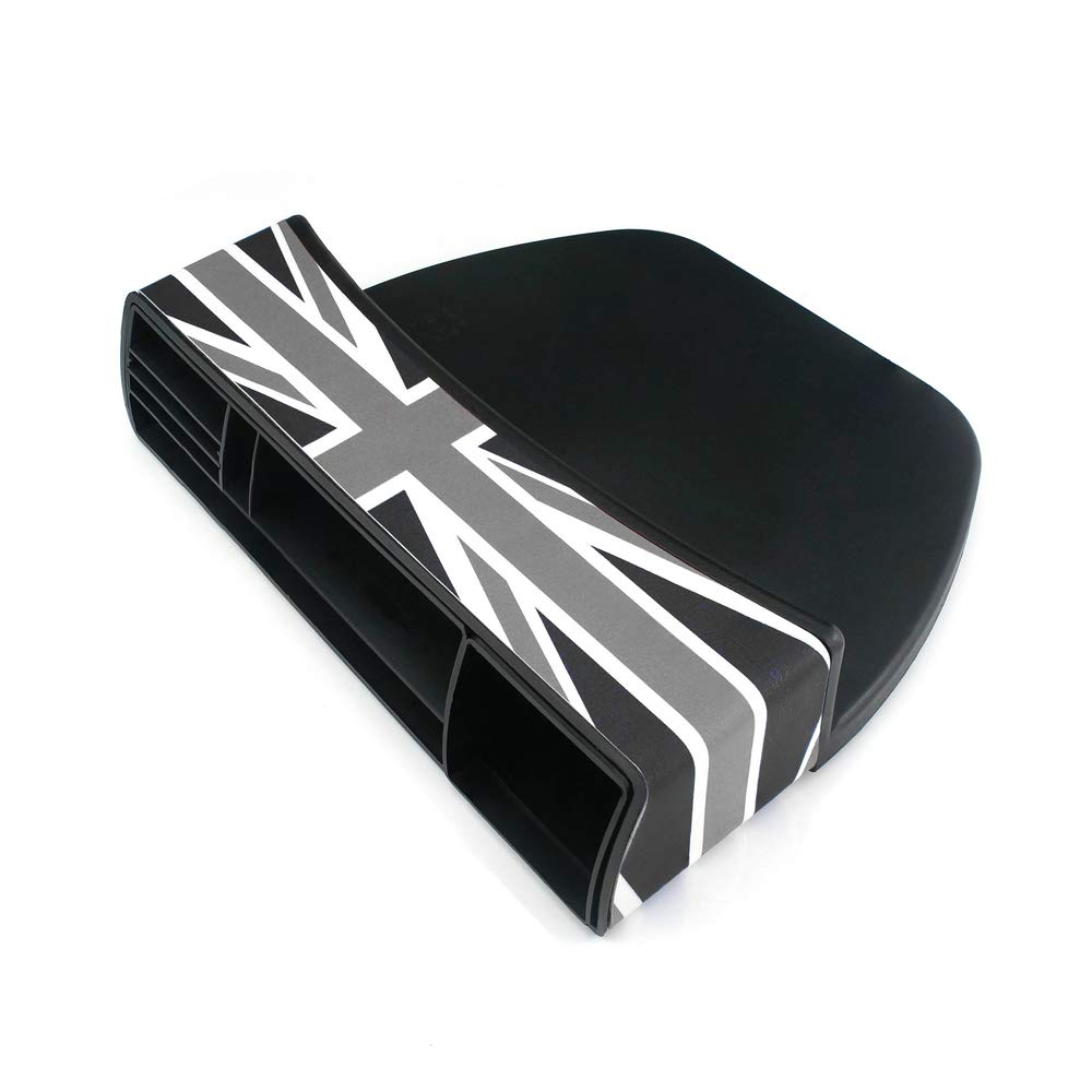 Gray Jack QIDIAN for Mini Cooper R56 R55 R50 R53 R60 F56 F55 F54 F60 Countryman Clubman Car Seat Storage Box for Mini Cooper S One Accessories