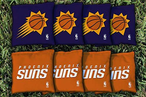 NBA Replacement All Weather Cornhole Bag Set NBA Team: Phoenix Suns by Victory Tailgate