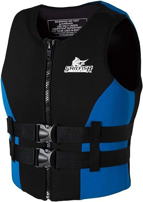 Adulti Nuoto Giubbotti Impact Vest Aiuto alla Galleggiabilit/à Nuoto Snorkeling Unisex Gilet Galleggiante in Neoprene