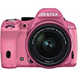 Pentax K-50 Digital SLR Camera with 18-55mm f/3.5-5.6 Lens (Pink/Pink) (Certified Refurbished)