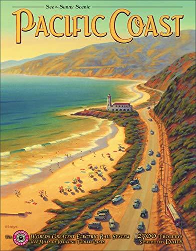 (Desperate Enterprises Erickson - Pacific Coast Tin Sign, 12.5