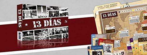 Ludonova LDNV100001 - 13 Días: La crisis de los misiles en Cuba: Amazon.es: Juguetes y juegos