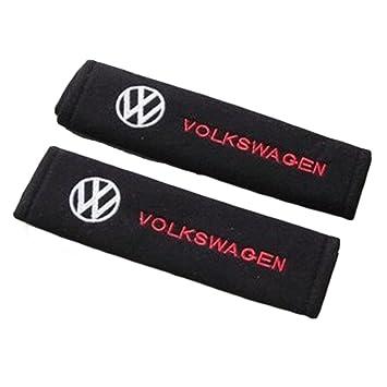 Fitracker 1 par de almohadillas para cintur/ón de seguridad de coche con logotipo de coche