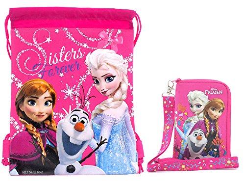 Disney Frozen Character Drawstring Lanyard