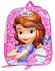 Disney Sofia the First 15 Toddler School Backpack Pink