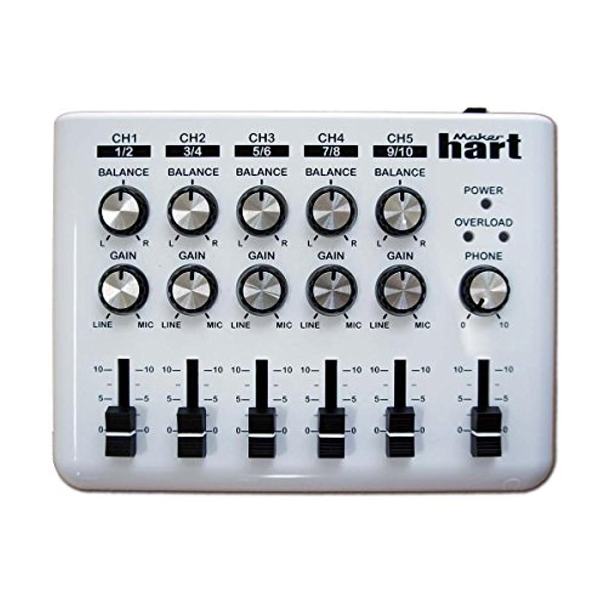 [해외] MAKER HART LOOP MIXER 5채널 스테레오 음성 믹서