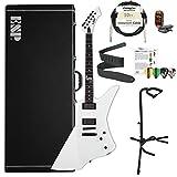 ESP LSNAKEBYTESW-Kit01 ESP LTD James Hetfield Snake Byte Snow White Electric Guitar