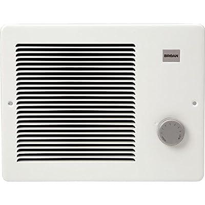 Broan 174 Wall Heater, 750/1500 Watt 120 VAC, White Painted Grille