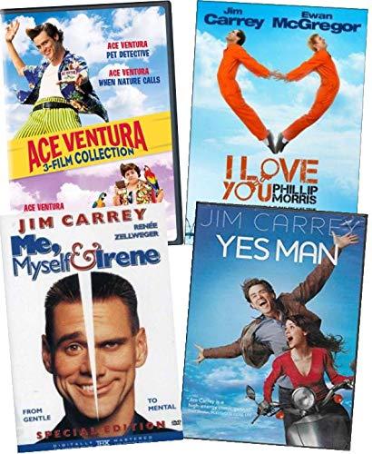 D 6-Film Collection - Ace Ventura: Pet Deteve Yctive/ Pet Detective JR/ When Nature Calls/ I Love You Phillip Morris/ Me, Myself & Irene/ Yes Man ()