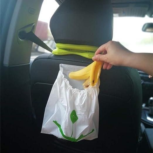 Universal 30Pcs Car Garbage Bag L Capacity Disposable Auto Trash Bag For Litter