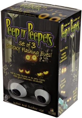 : Peep n' Peepers Flashing Eyes Halloween Lights