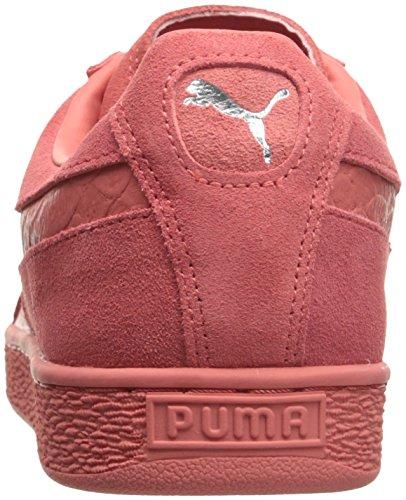puma Mono Porcelain Rose Classic Suede Men's Reptile Silver PUMA Fashion Sneaker tz0aqBwW
