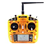 HOBBYMATE T-i8 2.4GHz 8CH DSM-X Compatible Full Range Radio Transmitter - for Rc Helicopters Airplane Quadcopter