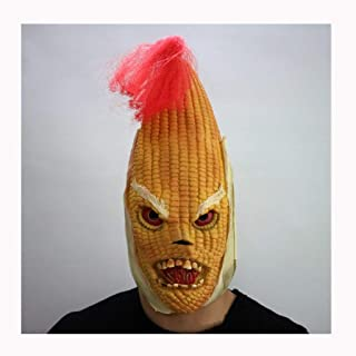 Adults Masks Latex Full Head Mask,Horror Corn Plant Zombie Ghost Creepy Halloween Costume