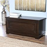 Surveyor Cedar Chest - Espresso