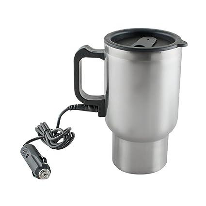 Amazon Com Heated Travel Mug For Vehicle Ixaer Auto Coffee Thermos