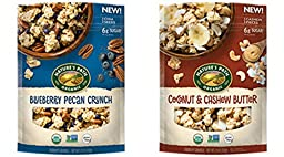 NATURE\'S PATH Blueberry Pecan Crunch Granola & Coconut & Cashew Butter (PACK OF 2)
