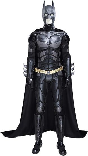 Costume batman cosplay justice league batman the dark knight nihiug  sldnfoi