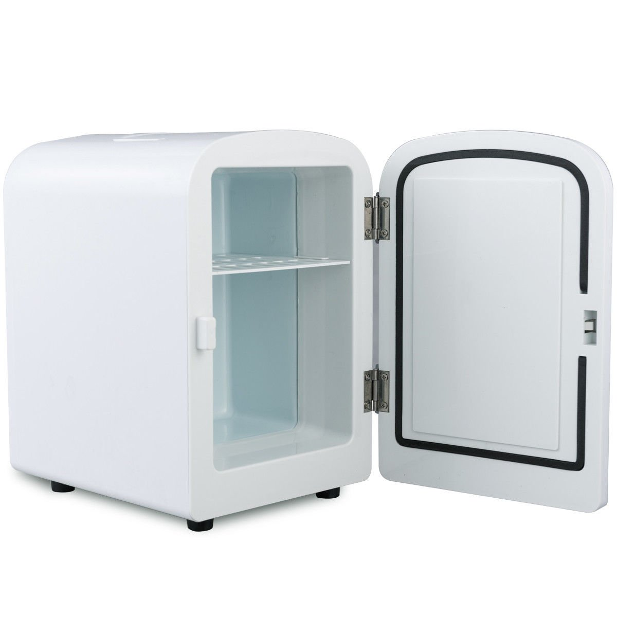 Giantex 4L Mini Fridge Portable Cooler and Warmer Auto Car Boat Home Office AC & DC (White) by Giantex (Image #4)